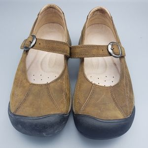 Keen Toyah Leather Mary Jane Shoes